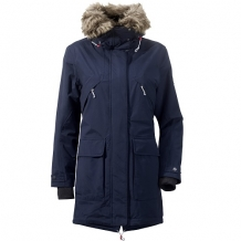 Lina dames parka - donkerblauw - didriksons