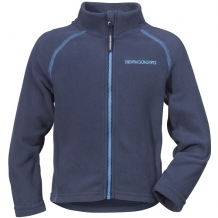 Didriksons Monte kinder fleece vest in donkerblauw