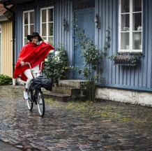 Wheely usx cape - rood - Didriksons